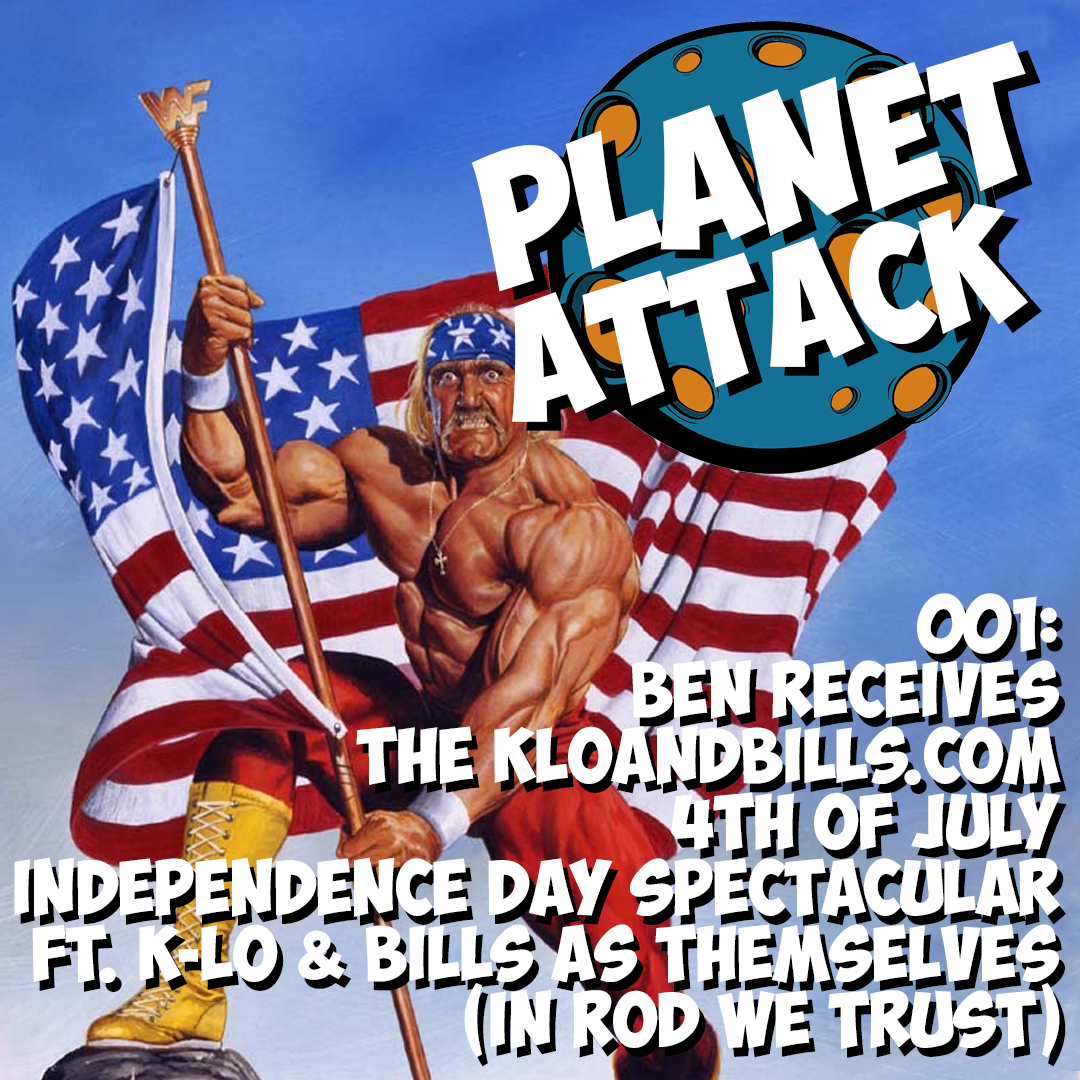 001: Ben Receives the kloandbills.com 4th of July Independence Day Spectacular ft. k-Lo & Bills as Themselves (In Rod We Trust)